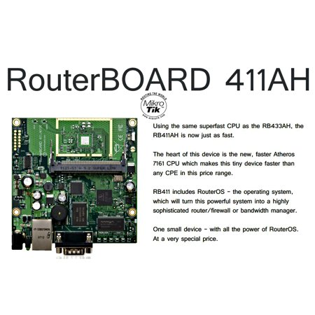 Mikrotik RB411AH highly sophisticated router, firewall or bandwidth manager