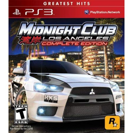 Refurbished Midnight Club: Los Angeles Greatest Hits Complete Edition For PlayStation 3 - Halloween Dance Clubs Los Angeles