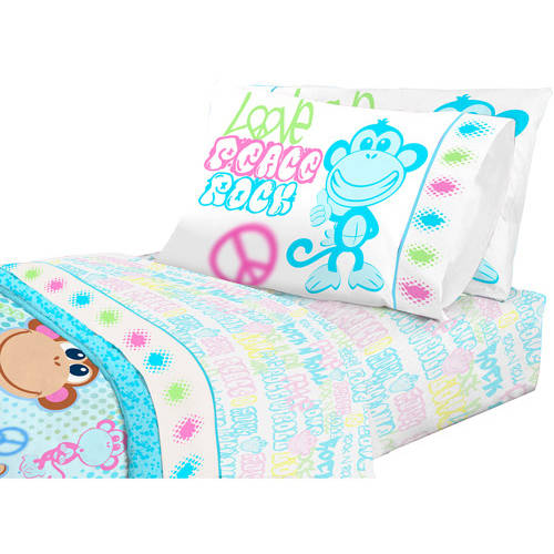 American Kids Monkey Sheet Set