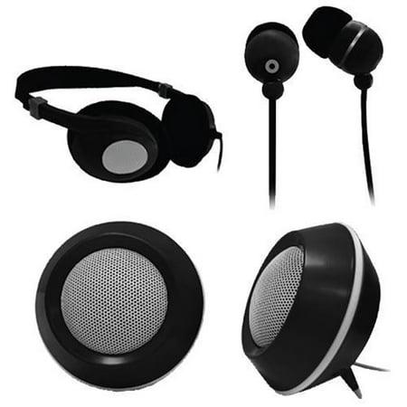 Craig 3 In 1 Audio Combo Pack-BLACK