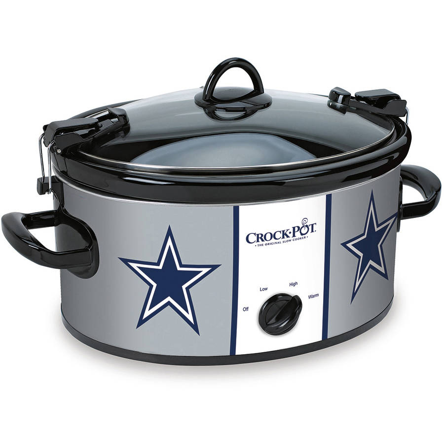 Crock-Pot NFL 6-Quart Slow Cooker, Dallas Cowboys