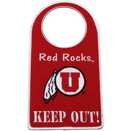 Utah Utes Embroidered Door Hanger - No Size](Costume Shops In Utah)