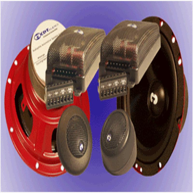 "Cl62 - CDT Audio 6.5"" 2 Way Component Speakers"