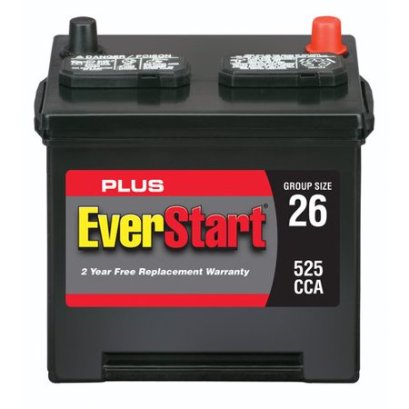 Everstart Plus Lead Acid Automotive Battery Group 26