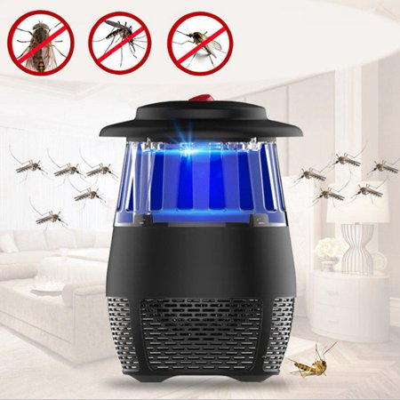 New Electric Insect Mosquito Fly Killer Bug Zapper LED Trap Lamp Home Kitchen Indoor ()