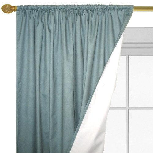 Roc-Lon Satintone Curtain Panels (Set of 2)