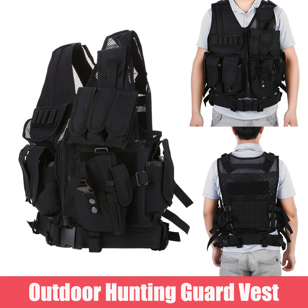 Best Bullet Proof Vests - Protective Vest,Ymiko Military Guard Vest Plate Carrier Bullet Review