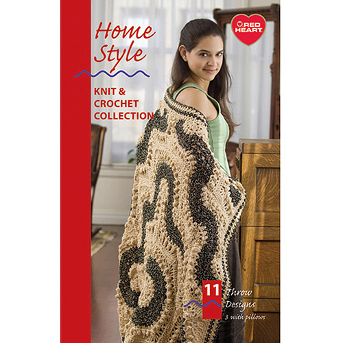 Coats and Clark Home Style Knit and Crochet Collection, Super Saver and Fiesta