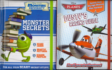 Set of Two: Dusty's Racing Guide Monster Secrets by