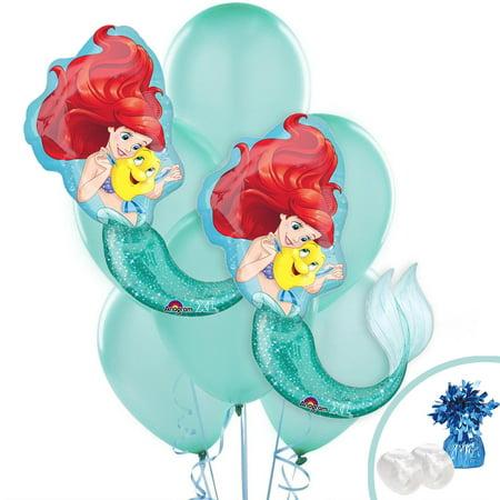 Little Mermaid Jumbo Balloon - Little Mermaid Backdrop
