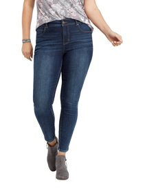 7fa6b3762f8 Maurices Women s Tinted Skinny Jeans - Plus Size Everflex High Rise