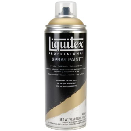 Liquitex Professional Spray Paint 400ml-Iridescent Antique Gold