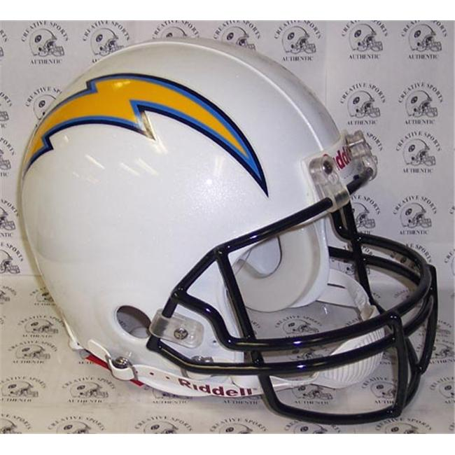 Creative Sports RD-CHARGERS-A San Diego Chargers Riddell Full Size Authentic Proline Football Helmet