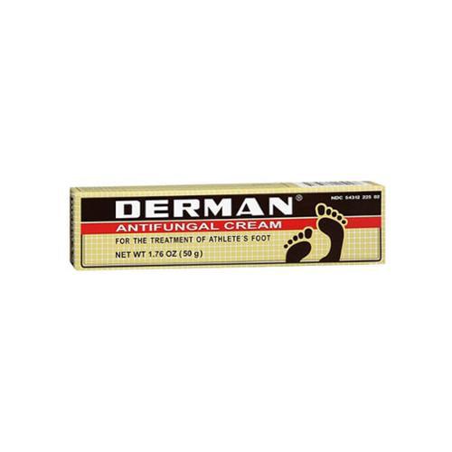 Derman Antifungal Cream 1.76 oz (Pack of 2)