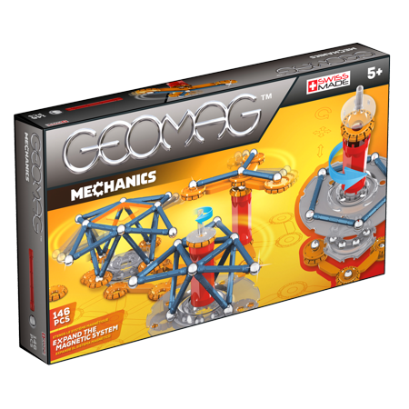 GEOMAG Mechanics 146 Piece Construction Set