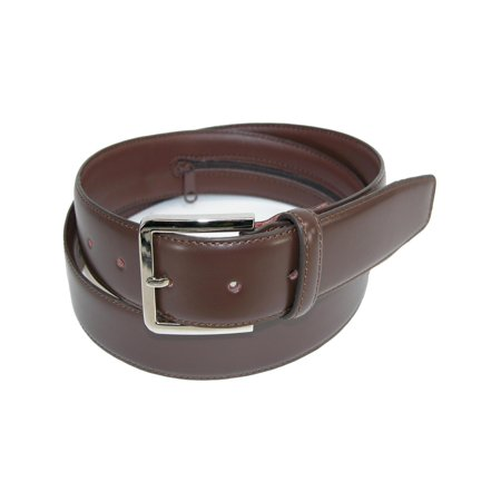 Presley Brown Leather - Men's Leather Travel Money Belt (Large Sizes Available)
