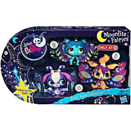 Littlest Pet Shop Moonlite Fairies Fairy Moon Collection Figure