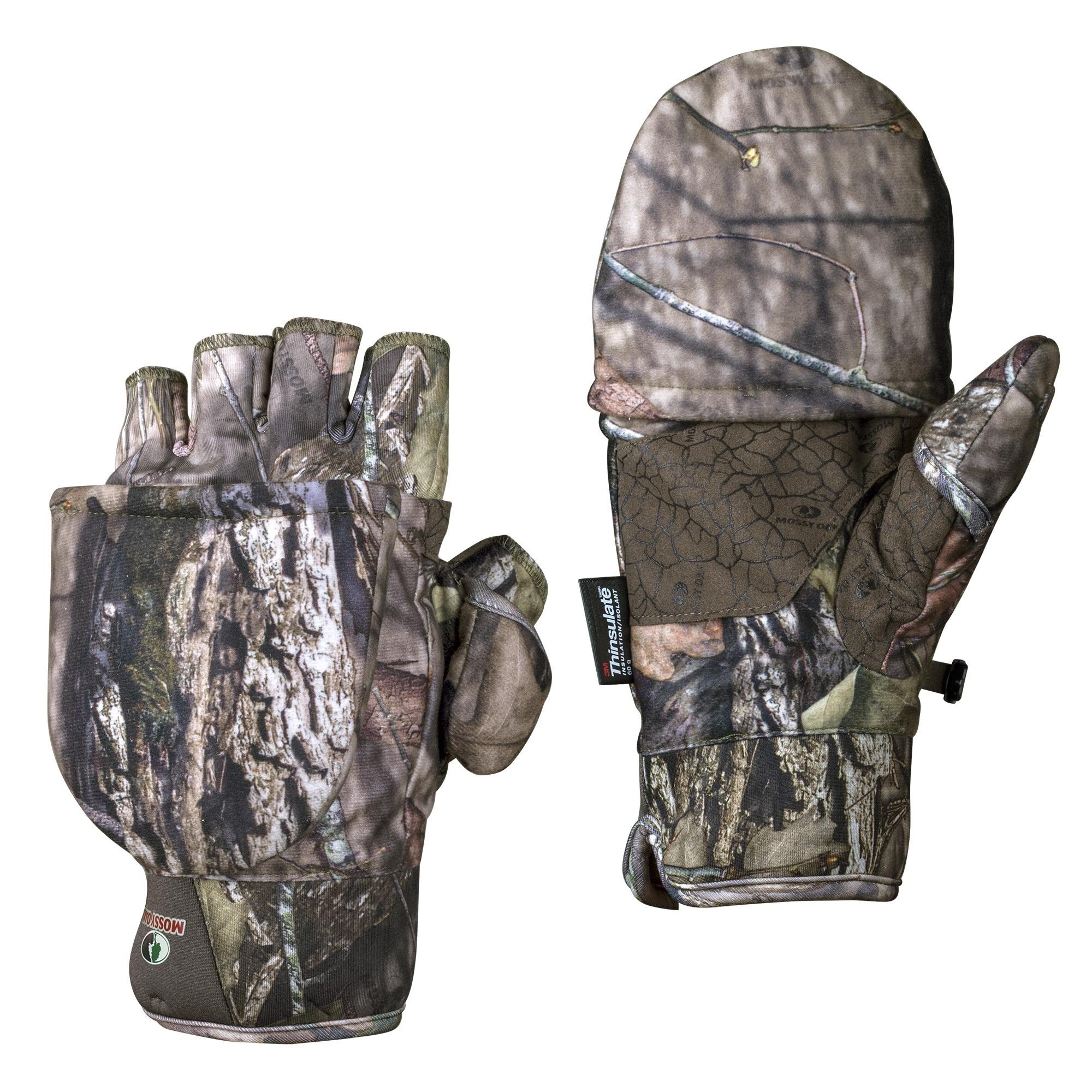 Mossy Oak Breakup Country Men's Pop-Top Gloves