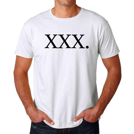 Tee Bangers Xxx  Rap Song Title Mens White T Shirt New Sizes S 2Xl