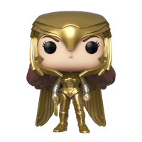 Funko POP! Heroes: Wonder Woman 1984 - WW Gold Power (MT)