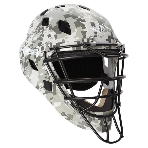 Diamond Edge Camo Catcher's Helmet DCH-EDGE iX5 SM