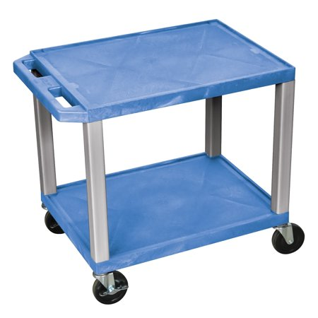 Offex Multipurpose Utility Cart No Electric - Blue with Nickel (Blue Nickels)