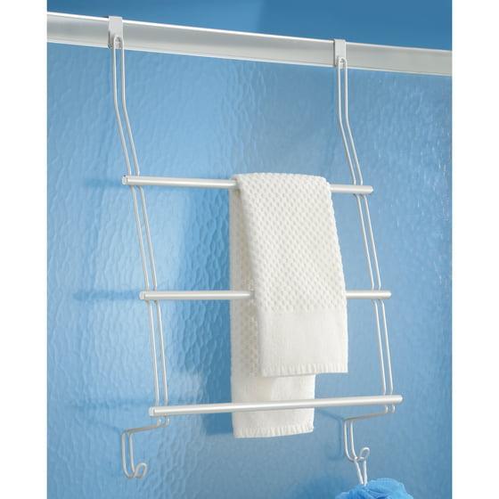 Average Height Of Towel Bar In Bathroom: InterDesign Classico Over-the-Door Towel Rack