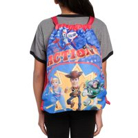 """Disney Toy Story 4 Kids 15"""" Sling Bag Woody Buzz Bo Peep Forky Party Favor"""