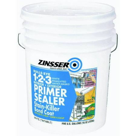 Zinsser bulls eye 1 2 3 latex interior exterior stain - Exterior acrylic latex stain blocking primer ...