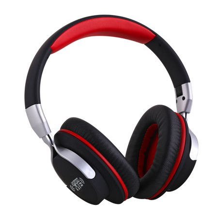 (Ausdom AH861 Over the Ear Headphones with Mic and ShareMe Bluetooth 4.1 for Wireless Stereo Music Listening - Foldable Sports Earphones)