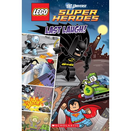 Last Laugh (LEGO DC Super Heroes: Comic Reader) - eBook (Last Supper Design)