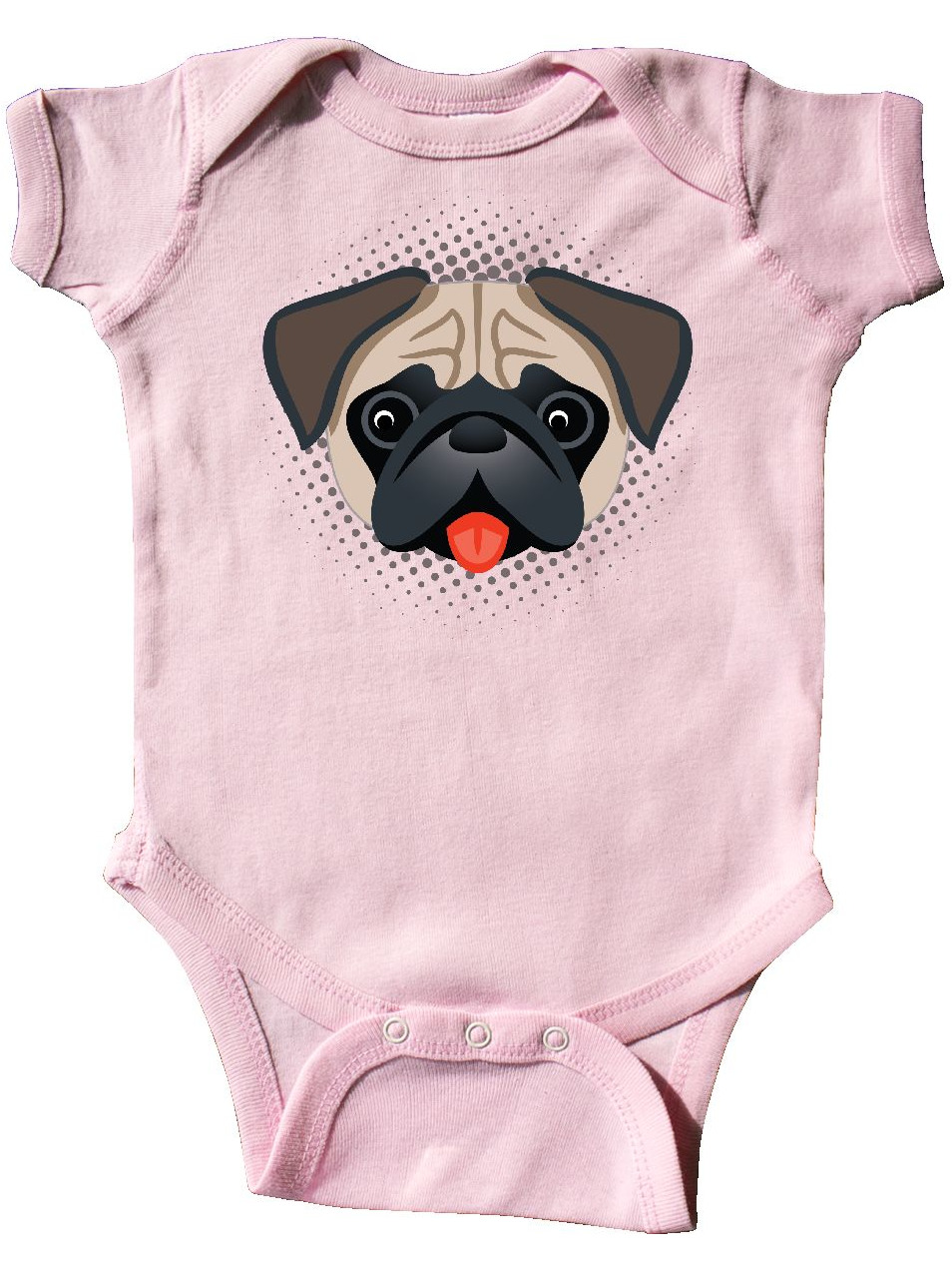 b956e6051 Cute Pug Puppy Dog Gift Infant Creeper - Walmart.com