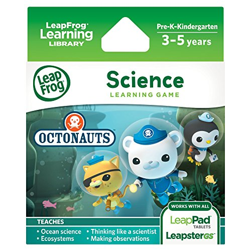 LeapFrog Science Learning Game Disney Octonauts for LeapPad Platinum, LeapPad Ultra,... by LeapFrog