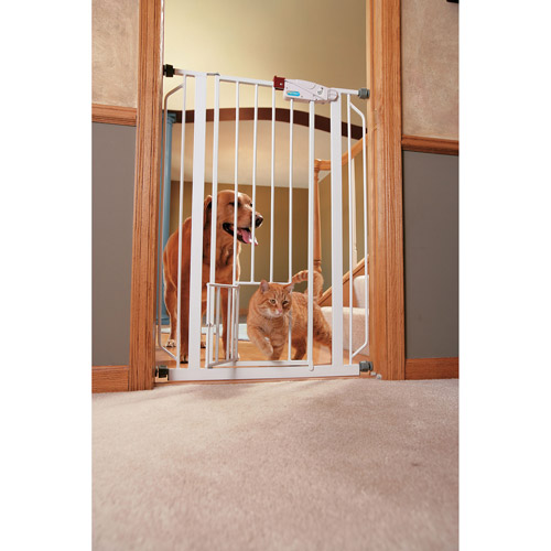 Carlson Extra-Tall Gate with Pet Door