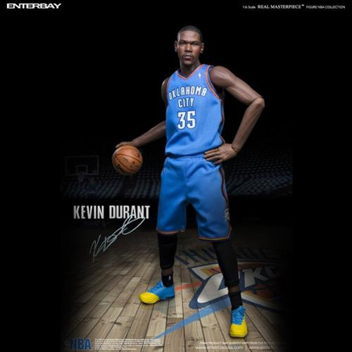 Enterbay NBA Basketball Oklahoma City Thunder Kevin Durant 1/6 Figure Scale Statue (Christmas Gift Idea)