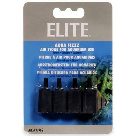 Elite 1 Cylinder Air Stone, 4pk