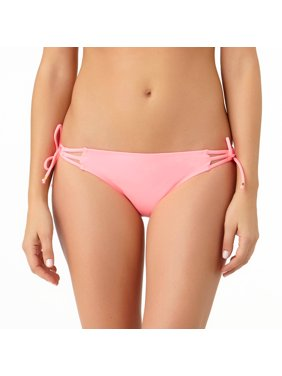 6dfc8d3503c4 Product Image Collections By Women's Solid Side Tie Swimsuit Bottom