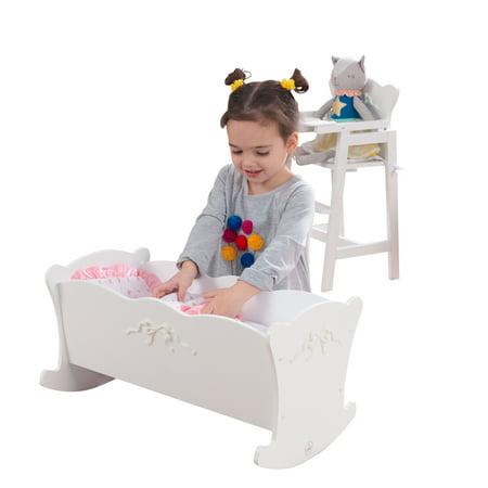 KidKraft Tiffany Bow Doll Cradle