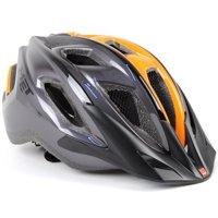 MET Funandgo Bike Helmet // Anthracite/Orange