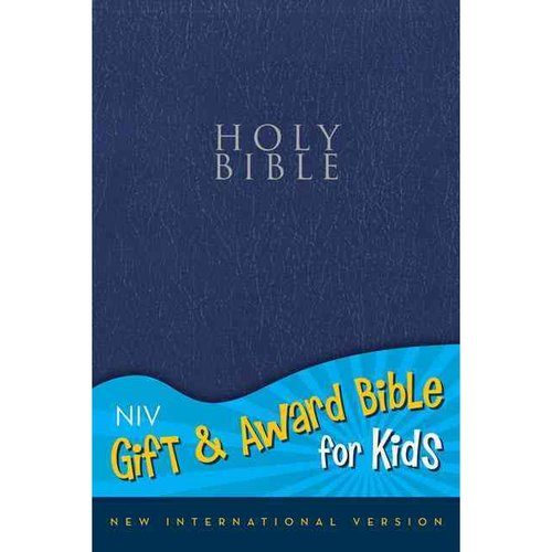 Holy Bible: New International Version, Navy, Leather-Look, Gift & Award Bible for Kids