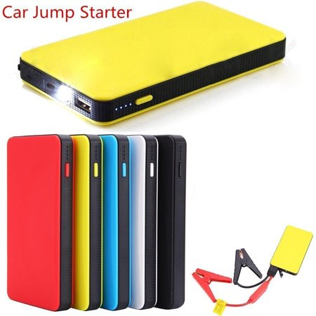 Portable Car Jump Starter Engine Pack Booster Battery Charger 20000mAh Mini Slim USB Power Bank (Ultimate Speed Portable Jump Starter With Power Bank)