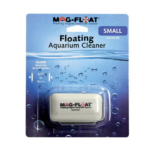 Gulfstream Tropical Mag-Float Floating Glass Aquarium Cleaner Small by