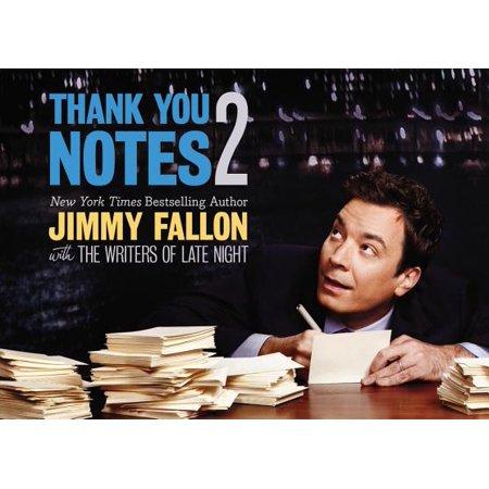 Thank You Notes 2 - Jimmy Fallon Thank You Halloween