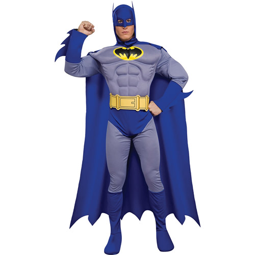 Batman: The Brave and the Bold Deluxe Muscle Chest Adult Halloween Costume