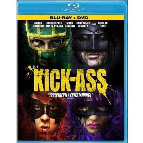 Kick-Ass (Blu-ray + DVD) (With INSTAWATCH) (Widescreen)