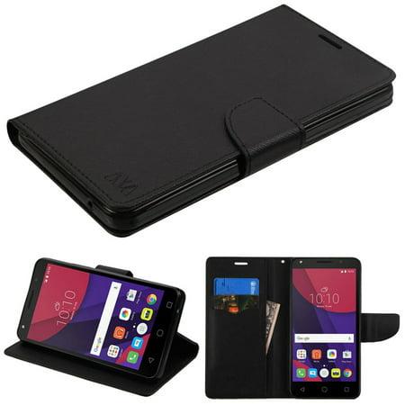 official photos 65361 8b3ec Alcatel Pixi 4 (6) Phone Case, Alcatel Pixi 4 (6) Case, by Insten Flip  Leather Wallet Case with card slot For Alcatel Pixi 4(6) case cover