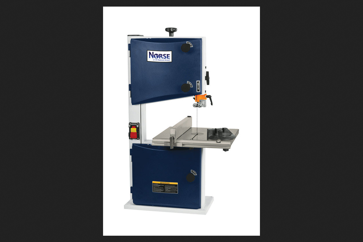 C.H. Hanson Norse 10 in. Corded Bench Top Vertical Band Saw 3.4 amps 120 volt 1 3 hp 2980 rpm by C.H. Hanson