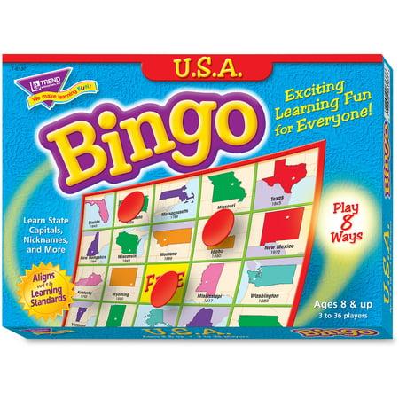 Trend U.S.A. Bingo Game