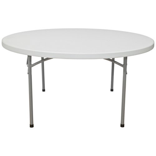 National Public Seating BT Series 60 in. Round Folding Table -10 or 20 Pack