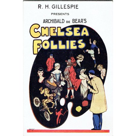 Chelsea Follies Revue By Archibald De Bear And R Arkell Poster Print By ®  The Michael Diamond Collection Mary Evans Picture Library